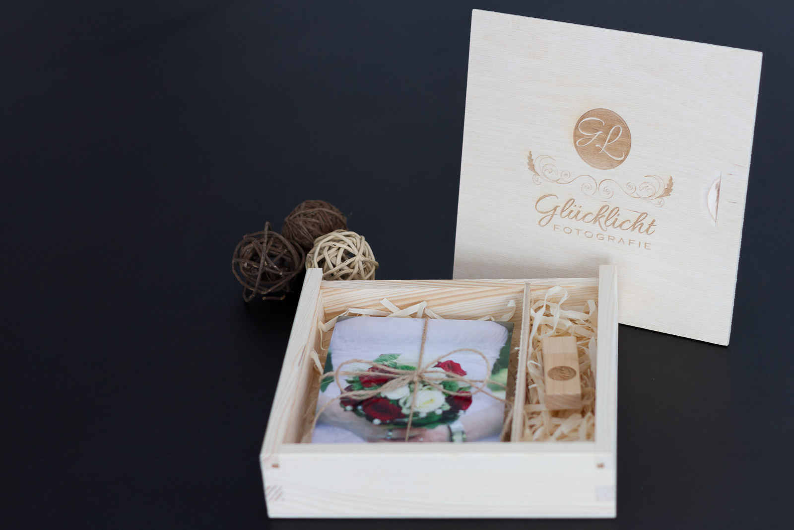 Hochzeitsfotos - USB Boxen