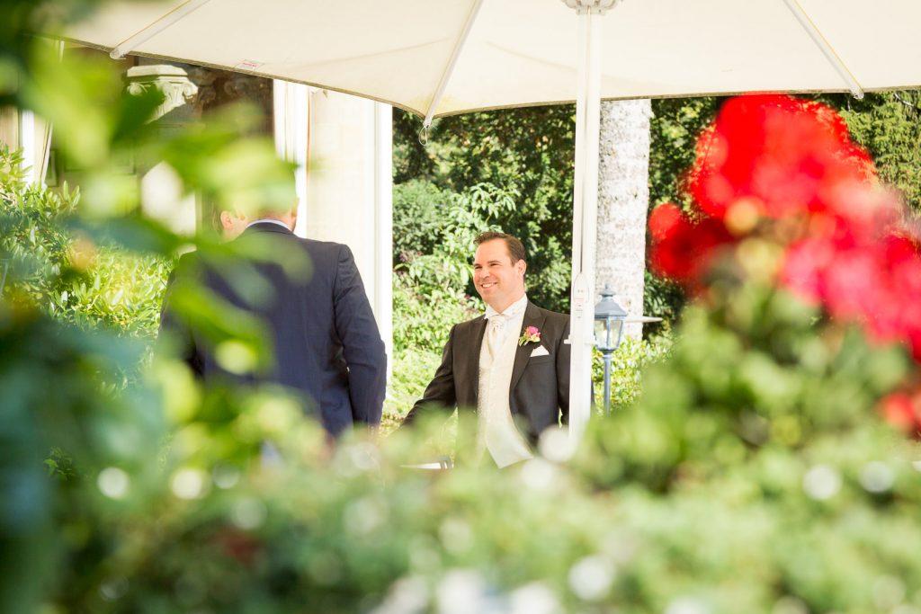 Empfang auf der Villa Rothschild