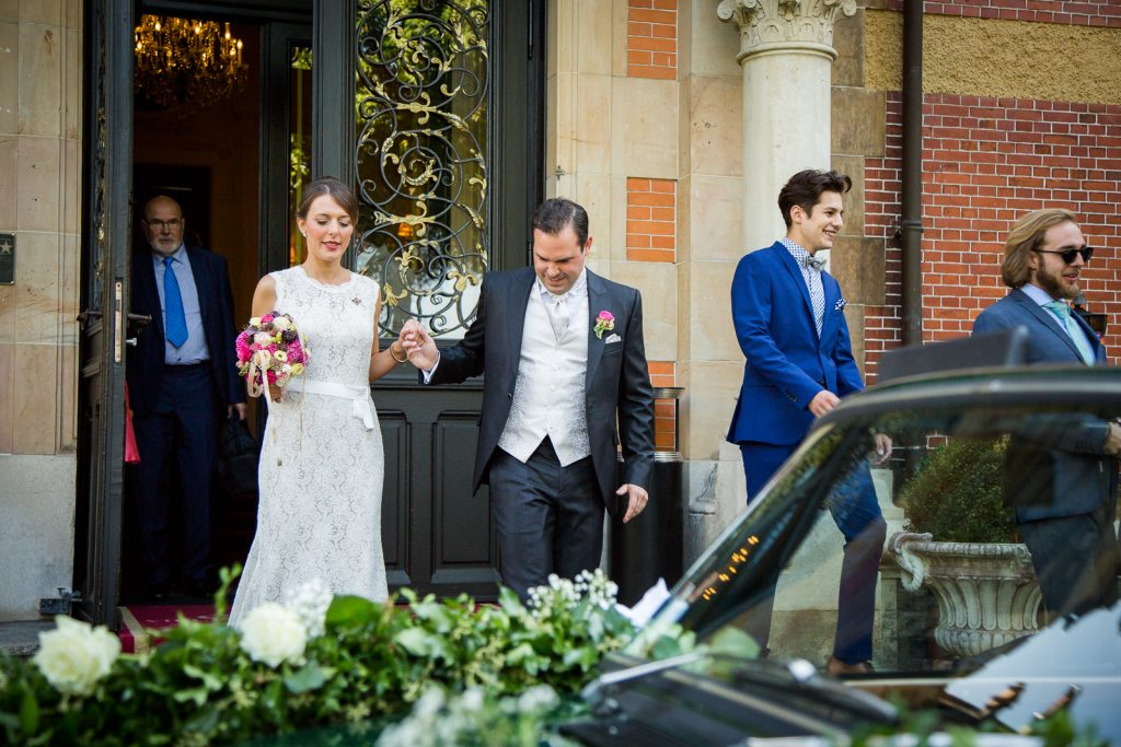 Brautpaar Villa Rothschild