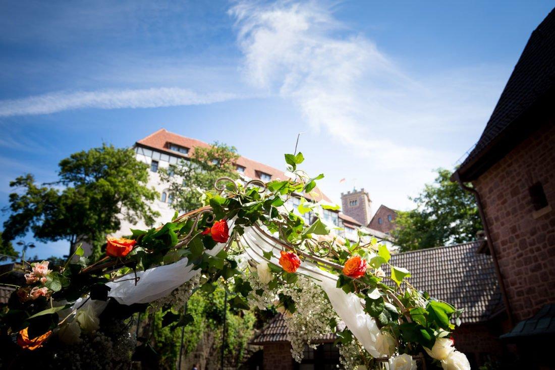 Hochzeit auf der Wartburg