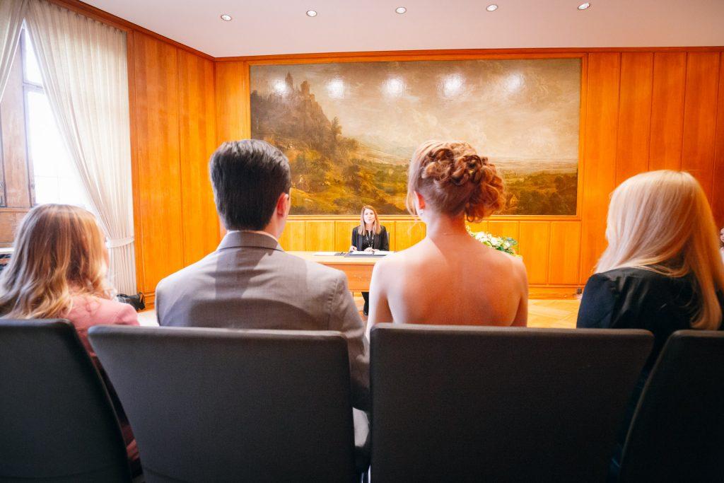 Hochzeit im Römer in Frankfurt 3