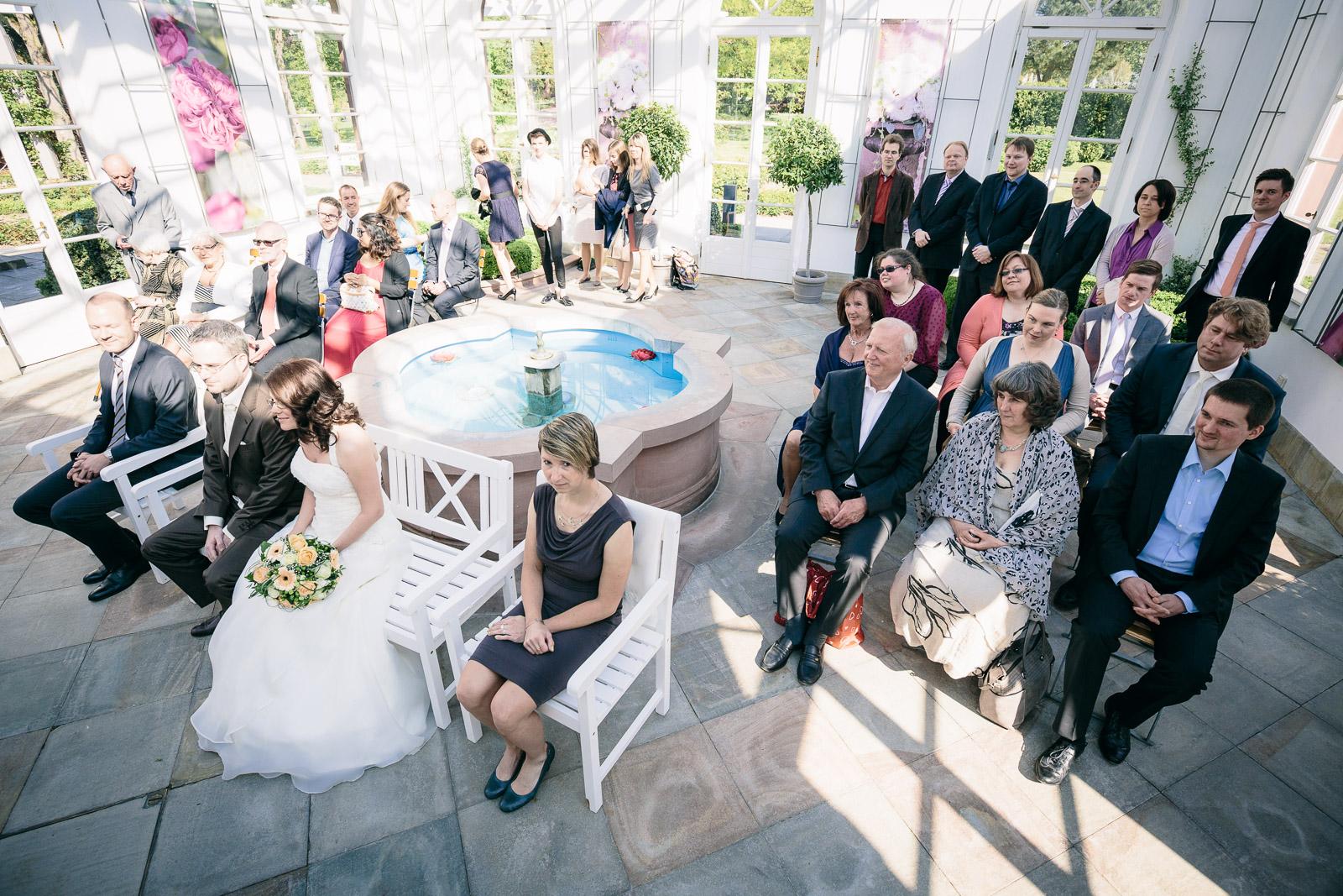 Hochzeit im Palmengarten Frankfurt - GLÜCKLICHT