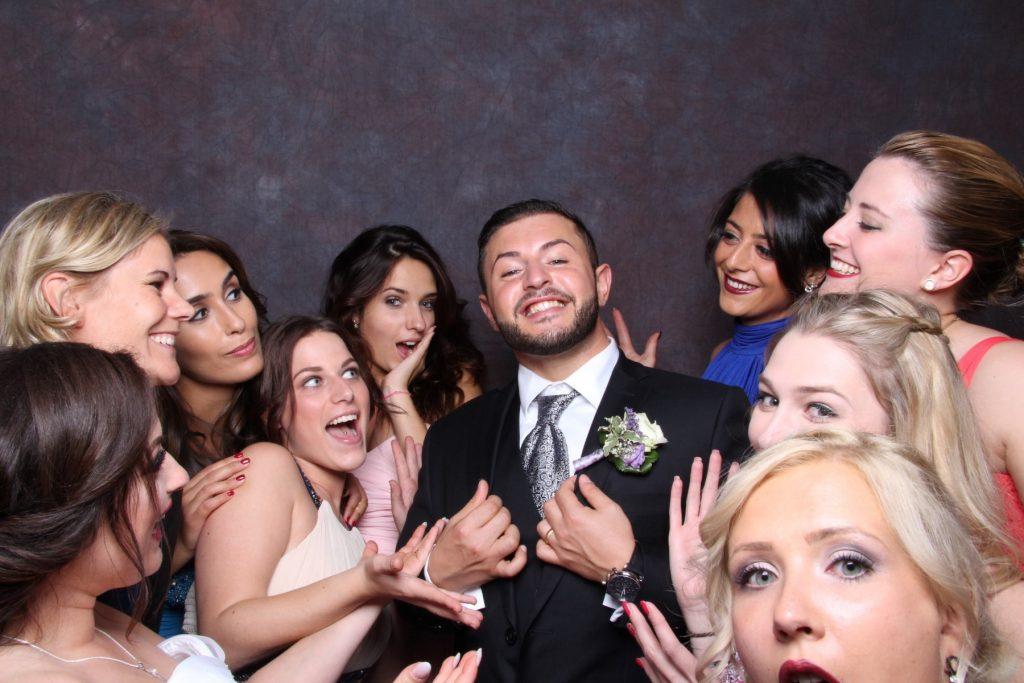 Photobooth Hochzeit Gäste