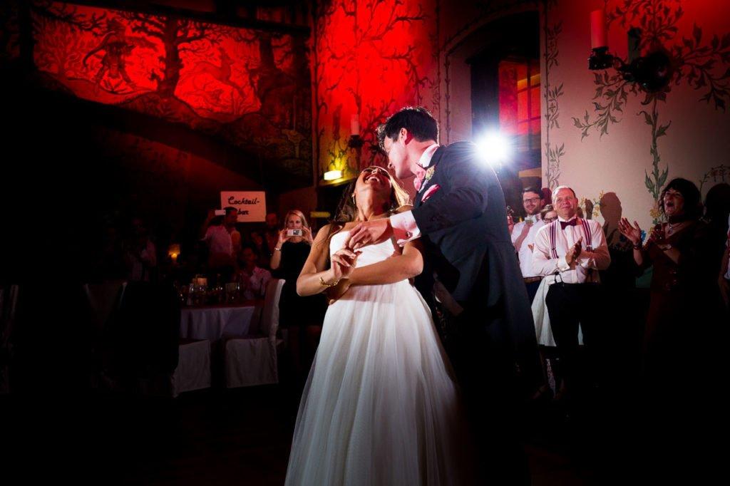 Hochzeitsparty auf der Wartburg