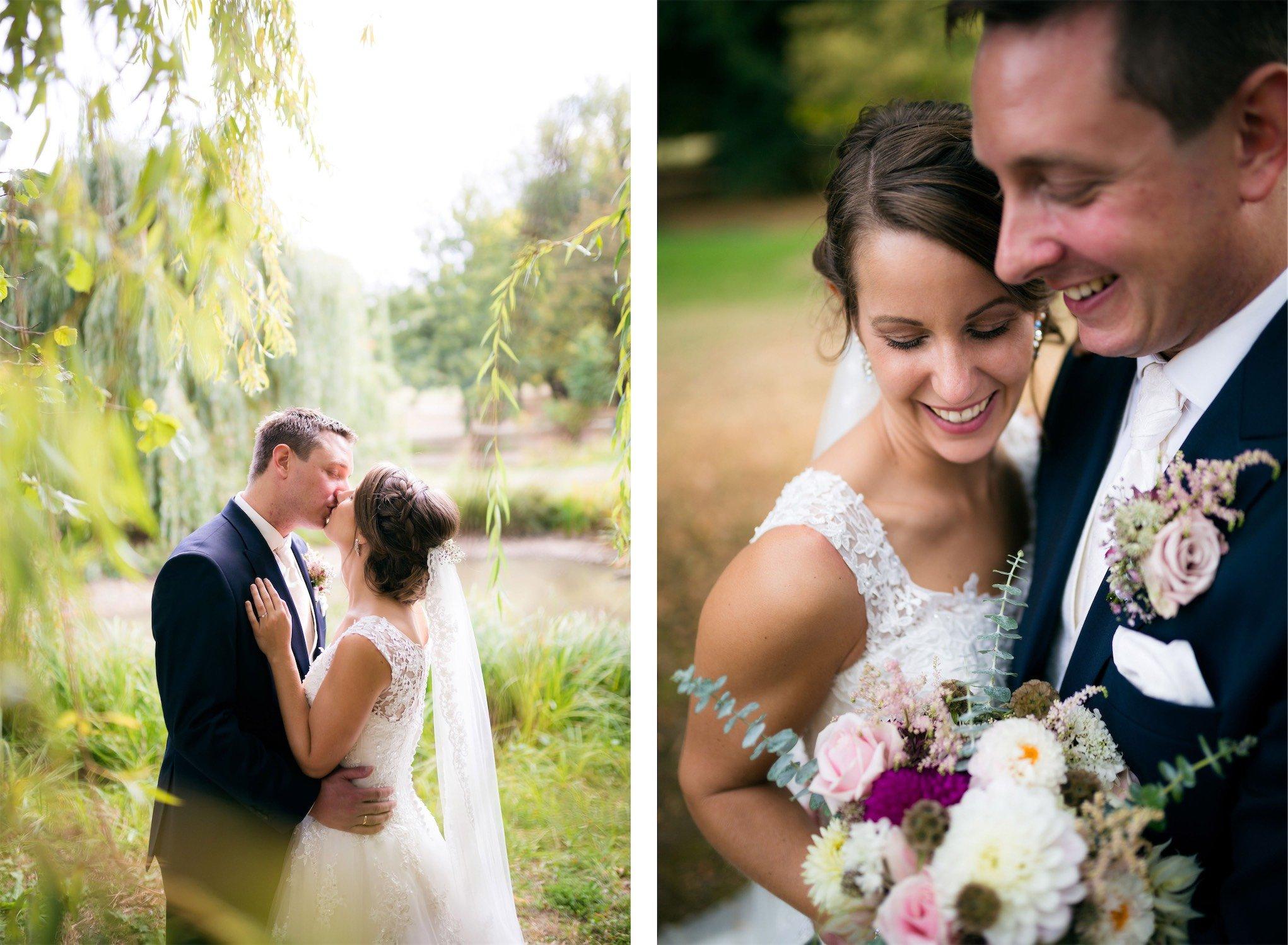 Hochzeitsfotos in der Nähe des Güterbahnhofes Bad Homburg