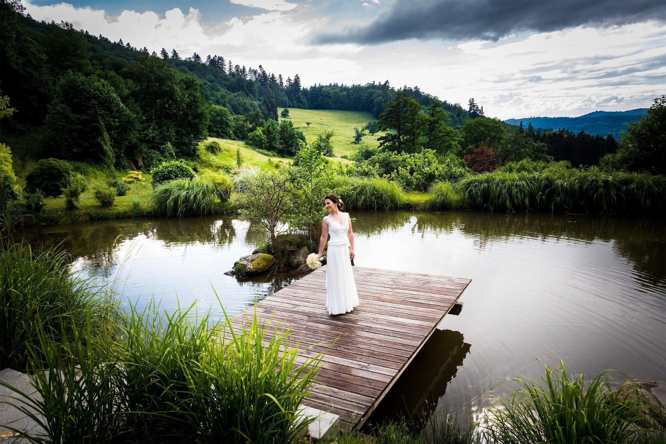 Hochzeitsfotos am Hofgut Hohenstein