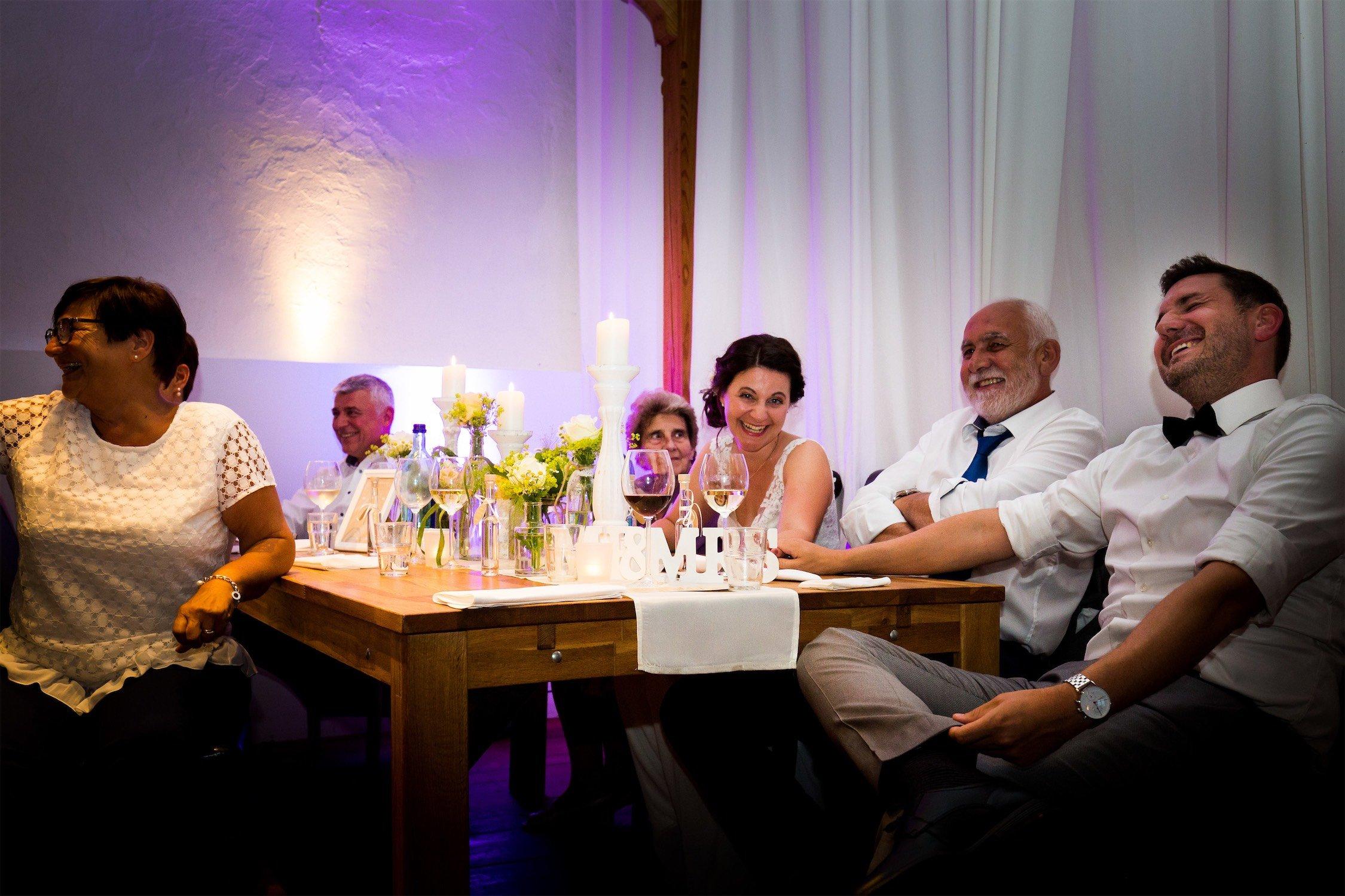 Hochzeitsfeier im Hofgut Hohenstein