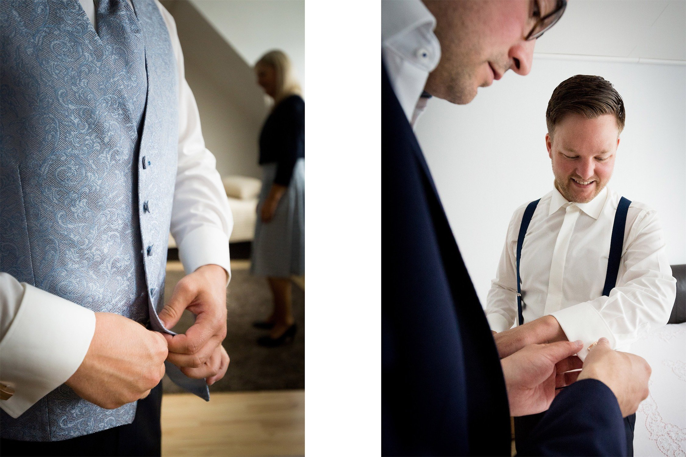 Getting Ready für Hochzeit im Landgasthof Neubauer