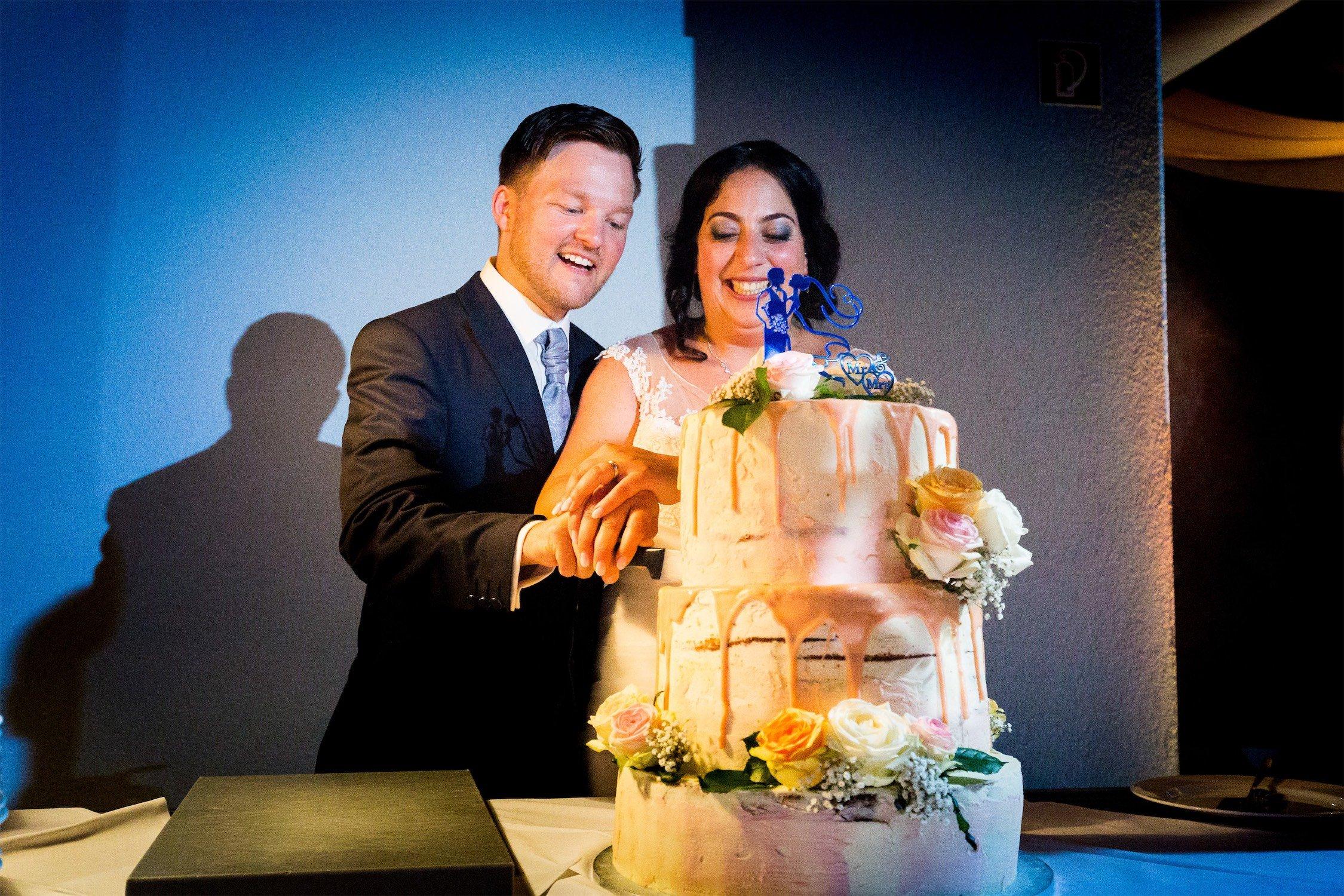 Hochzeitstorte im Landgasthof Neubauer in Seligenstadt